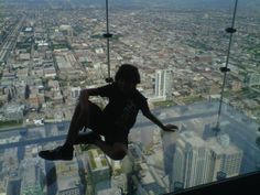 Skydeck Ledge at Willis Tower (formerly Sears Tower) - Chicago, IL - Kid friendly activity reviews - Trekaroo