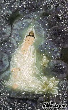 Cantinho dos Deuses: Deusa Kuan Yin