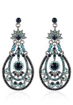 Blue-Earrings / Rukhsaar / Rs. 799