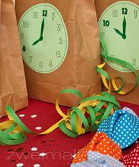 :: zweimalB :: Countdown Bags für einen spannenden Silvesterabend mit Kindern