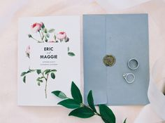 wax seal for wedding invite envelopes   modern and simple floral wedding invitation suite from Organic Style Wedding in Sacramento