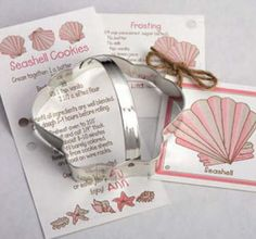 ANN CLARK~SEASHELL~ tin cookie cutter~MADE IN USA (NEW) stores.ebay.com/thegingerbreadcollection