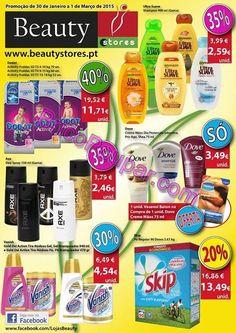Promoções Folheto Beauty Stores - de 30 de Janeiro a 1 de Março