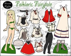 Pretty paper doll printables...wonder if granddaughter would like paper dolls?