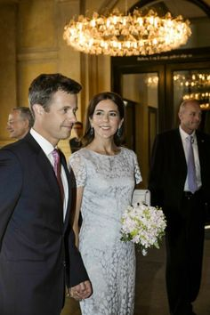 MYROYALS &HOLLYWOOD FASHİON:  Danish Royal Family attended a gala at the Royal Danish Theatre, June 25, 2014-Crown Prince Frederik and Crown Princess Mary