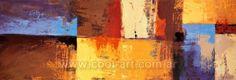 Pintura abstracta al Oleo