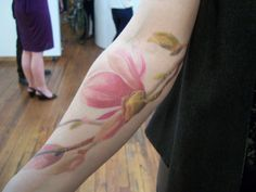 I want a watercolor tattoo