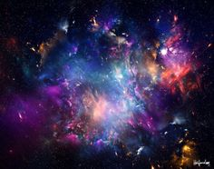 Image via We Heart It https://weheartit.com/entry/169883777/via/16925882 #colourful #galaxy #light #sky #tumblr #qutes
