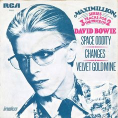 space oddity / changes / velvet goldmine by DAVID BOWIE, SP with rabbitrecords - Ref:115111453