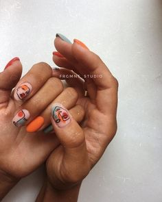 63 Cute nail designs for every nail length and season: Cute nails to try out Source ., # for nails designs # nail length Cute Acrylic Nails, Cute Nails, Pretty Nails, Minimalist Nails, Nail Design Glitter, Nails Design, Nail Design For Short Nails, Edgy Nail Art, Chic Nail Art