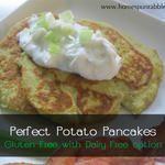 Perfect Potato Pancakes (gluten-free with vegan option)