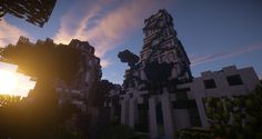 Architecture along with its friend, the nature, on Lumia's Creative. Screenshot taken by the player: ko0o