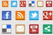 Boxy Social Icons - www.freeiconsdownload.com