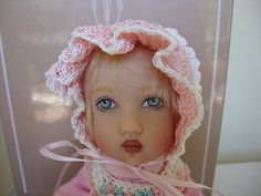 "Helen Kish, Chrysalis doll Tatum for sale.  She is 8"" tall."