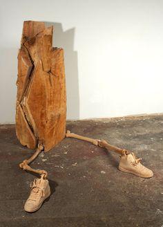 Runner - wood sculptures dan webb (13)