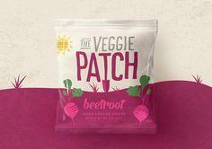 The Veggie Patch (chips de légumes) | Design : Our Revolution, Sydney, Australie (juillet 2016)