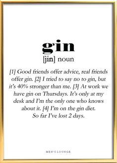 Gin definition