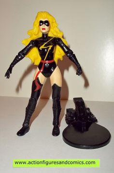 Marvel hall of fame MS MARVEL warbird black complete