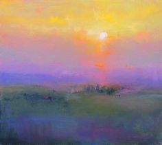 One Tuscan Evening British Contemporary Artist Norman SMITH. Love the blending of colors. Pastel Landscape, Landscape Art, Landscape Paintings, Acrylic Paintings, Beautiful Paintings, Art Techniques, Contemporary Artists, Abstract Art, Abstract Portrait