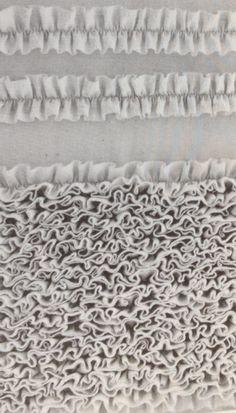 Ruffles - The art of manipulating fabric