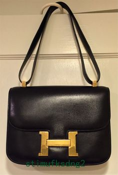 2a03f526a6d Extra Off Coupon So Cheap Hermes  Constance 23 Black GHW Incredible Vintage  Find Bag Purse