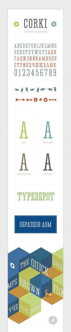 Corki   Font   Free Download.