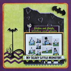 My Scary Little Monster! - Scrapbook.com