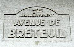 L'avenue de Breteuil (Paris 7ème/15ème)