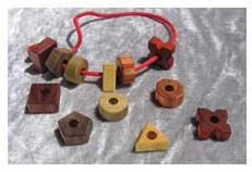 wood beads for baby