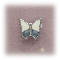 Simply Whispers hypoallergenic and nickel free Jewelry earrings Stainless Steel clip on Butterfly white and denim Whisper, Heart Ring, Jewelry Making, Butterfly, Stainless Steel, Denim, Earrings, Free, Hush Hush