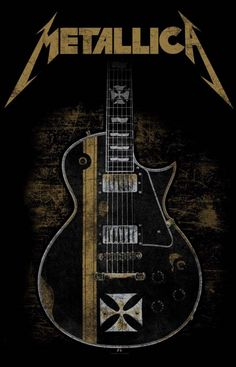 Metallica, Hetfield's Iron Cross Guitar