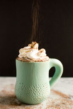 Coconut Kahlua Hot Chocolate