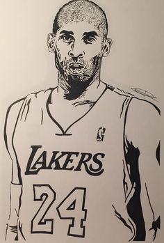 How To Draw Kobe Bryant Printable Step By Step Drawing Sheet How To Draw Kobe Bryant Bryant Black Mamba Bryant Cartoon Bryant nba Bryant Quotes Bryant Shoes Bryant Wallpapers Bryant Wife Word Drawings, Easy Drawings, People Drawings, Kobe Bryant Family, Kobe Bryant 24, Dear Basketball Kobe, Free Basketball, Drawing Sheet, Drawing Sketches