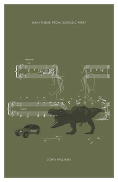 JURASSIC PARK Theme from Jurassic Park by by headfuzzbygrimboid