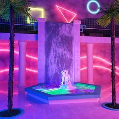 """dannermilliken: """" (Grace Casas x dANNER mILLIKEN Collaboration). x """" My collab with Danner, I created the space while he provided the imagery. Lovely working with you! Cyberpunk Aesthetic, Aesthetic Rooms, Purple Aesthetic, Retro Aesthetic, Aesthetic Photo, Aesthetic Pictures, City Aesthetic, New Retro Wave, Retro Waves"""