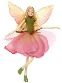 Bendable Petal Fairies Lavender Rose Fairy