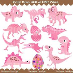 1000 images about emily 39 s pink dinosaur bedrooom on for Girly dinosaur fabric
