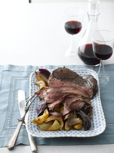 Balsamic London Broil from Joy of Kosher #passover #beef
