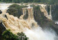 Barron Falls in Far North Queensland