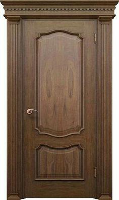 Elegant wood door