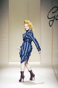 Andreas Kronthaler for Vivienne Westwood Spring 2008 Ready-to-Wear Fashion Show