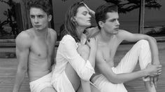 New Campaign Launch by Jock Sturges in store + jacandjack.com #SS14