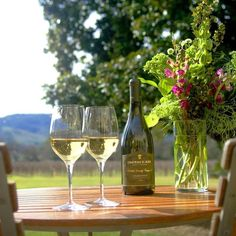 Day And Mood, Sonoma Valley, White Wine, A Table, Alcoholic Drinks, Glass, Floral, Instagram Posts, Drinkware