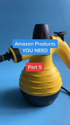 Home Gadgets, New Gadgets, Kitchen Gadgets, Amazon Hacks, Steam Cleaners, Smart Home, Modern Bedroom, Cool Gifts, Home Crafts