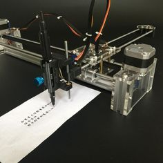 drawbot Idraw masters lettering robot XY-plotter drawing robot kit X Y axis writing robot support laser moduel