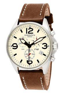 Torgoen Swiss Pilots Watch - $349