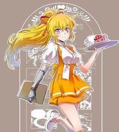 Waitress Yang is very cute #rwby #cosplayclass