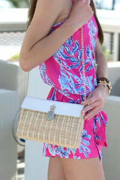 Lilly Pulitzer- I have this romper and it's one of my favorites for summer!
