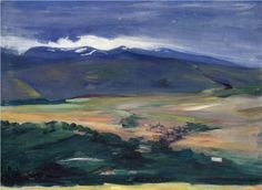 Ashtarak in hazy day - Martiros Saryan
