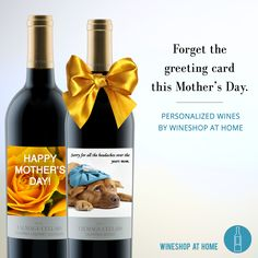 Everyone, please take it from me, all Mom's really want in this world is some good wine & some peace and quiet! Ask me about our Personalized Wine gift options today! https://multibra.in/hx3jn
